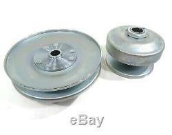 40 Series Torque Converter Kit with Backplate, Clutch Pulleys, Belt & Cover