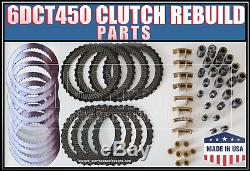 6DCT450 Powershift FORD gearbox clutch parts, Friction Steel plate kit set