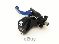 ASV F3 SHORTY BLUE CLUTCH + BRAKE LEVERS KIT With DUST COVERS YZ 450F 250F 250 125