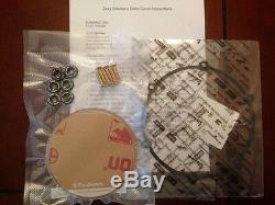 Aprilia Shiver 750 Clear Clutch Cover Kit 08-12 (Red & Gold) Ti Screws