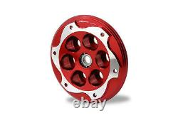 CNC Racing Clear Clutch Cover+Pressure Plate+Retainers Kit For BMW S1000RR 09-18