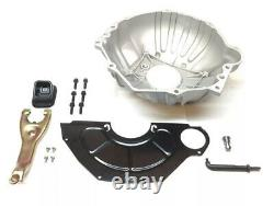 Chevy Bell Housing Kit with Cover Clutch Fork Boot Pushrod Bolts 621 11