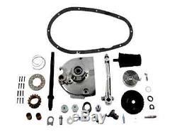 Chrome Kick Start Only Starter Conversion Kit Harley 900 Sportster Ironhead XLCH