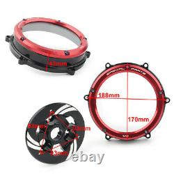 Clear Clutch Cover Spring Retainer Pressure Plate Kit for Ducati Panigale V4 V4S