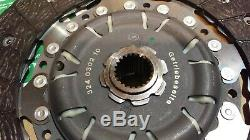 Clutch Kit 3pc (Cover+Plate+CSC) 240mm 624303434 LuK Genuine Shop Clearance
