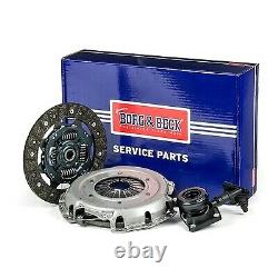 Clutch Kit 3pc (Cover+Plate+CSC) HKT1179 Borg & Beck Genuine Quality Guaranteed