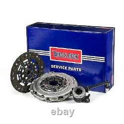 Clutch Kit 3pc (Cover+Plate+CSC) HKT1319 Borg & Beck Genuine Quality Guaranteed