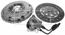 Clutch Kit 3pc (Cover+Plate+CSC) HKT1396 Borg & Beck Genuine Quality Guaranteed