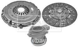 Clutch Kit 3pc (Cover+Plate+CSC) HKT1539 Borg & Beck Genuine Quality Guaranteed
