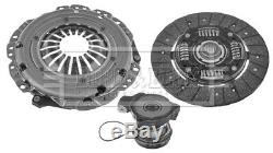 Clutch Kit 3pc (Cover+Plate+CSC) HKT1544 Borg & Beck Genuine Quality Guaranteed