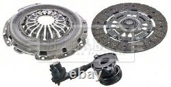 Clutch Kit 3pc (Cover+Plate+CSC) HKT1568 Borg & Beck 1772100 Quality Guaranteed