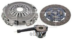 Clutch Kit 3pc (Cover+Plate+CSC) HKT1581 Borg & Beck Genuine Quality Guaranteed