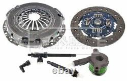 Clutch Kit 3pc (Cover+Plate+CSC) HKT1582 Borg & Beck Genuine Quality Guaranteed