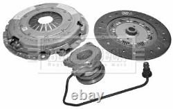 Clutch Kit 3pc (Cover+Plate+CSC) fits ALFA ROMEO 159 939 1.9D 05 to 11 B&B New