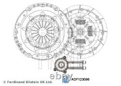 Clutch Kit 3pc (Cover+Plate+CSC) fits FORD FIESTA Mk5 2.0 05 to 08 N4JB 221mm