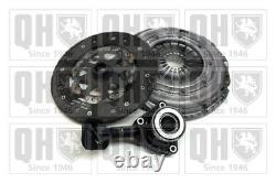 Clutch Kit 3pc (Cover+Plate+CSC) fits FORD FOCUS Mk2 1.8D 04 to 12 KKDA QH New