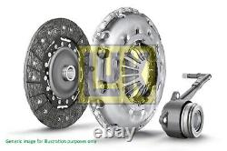 Clutch Kit 3pc (Cover+Plate+CSC) fits JEEP COMPASS MK49 2.0D 2006 on 240mm LuK