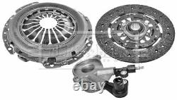 Clutch Kit 3pc (Cover+Plate+CSC) fits MERCEDES VITO 638 2.2D 99 to 03 OM611.980