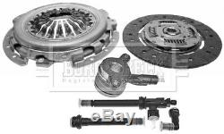 Clutch Kit 3pc (Cover+Plate+CSC) fits NISSAN PRIMASTAR X83 2.0D 06 to 10 B&B New