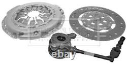 Clutch Kit 3pc (Cover+Plate+CSC) fits NISSAN QASHQAI J10, J11 1.5D 2007 on B&B