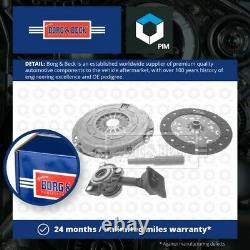 Clutch Kit 3pc (Cover+Plate+CSC) fits PEUGEOT 3008 0U 1.6D 09 to 16 6 Speed MTM