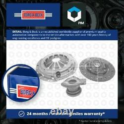 Clutch Kit 3pc (Cover+Plate+CSC) fits SUZUKI GRAND VITARA Mk2 2.0 05 to 15 J20A