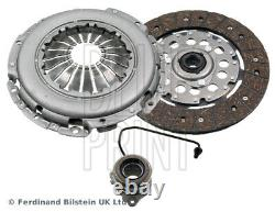 Clutch Kit 3pc (Cover+Plate+CSC) fits VAUXHALL ASTRA J 1.7D 09 to 15 240mm ADL