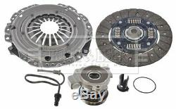 Clutch Kit 3pc (Cover+Plate+CSC) fits VAUXHALL MERIVA A 1.6 03 to 10 Z16XEP B&B
