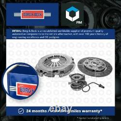 Clutch Kit 3pc (Cover+Plate+CSC) fits VAUXHALL TIGRA X04 1.4 04 to 09 Z14XEP B&B