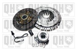 Clutch Kit 3pc (Cover+Plate+CSC) fits VAUXHALL ZAFIRA A, B 1.6 1.8 99 to 14 QH