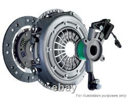Clutch Kit 3pc (Cover+Plate+CSC) fits VAUXHALL ZAFIRA B 1.7D 08 to 14 240mm New