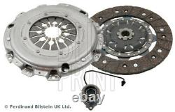 Clutch Kit 3pc (Cover+Plate+CSC) fits VAUXHALL ZAFIRA B 1.7D 08 to 14 241mm ADL