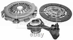 Clutch Kit 3pc (Cover+Plate+CSC) fits VOLVO V50 545 1.6D 05 to 10 D4164T B&B New