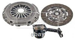 Clutch Kit 3pc (Cover+Plate+CSC) fits VOLVO V50 545 2.0D 04 to 10 D4204T B&B New