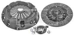 Clutch Kit 3pc (Cover+Plate+Releaser) HK9702 Borg & Beck Top Quality Replacement