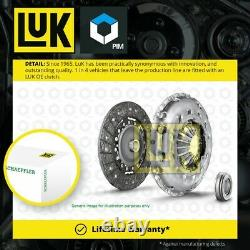 Clutch Kit 3pc (Cover+Plate+Releaser) fits AUDI S5 8T 4.2 07 to 08 CAUA LuK New