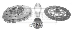 Clutch Kit 3pc (Cover+Plate+Releaser) fits BMW 116 E87 1.6 04 to 11 N45B16A B&B