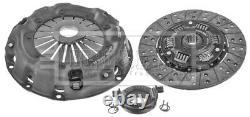 Clutch Kit 3pc (Cover+Plate+Releaser) fits JAGUAR Mark 2 Mk2 3.8 59 to 66 7R B&B