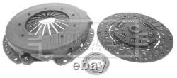 Clutch Kit 3pc (Cover+Plate+Releaser) fits JAGUAR XJS 3.6 83 to 91 B&B Quality