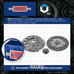 Clutch Kit 3pc (Cover+Plate+Releaser) fits MAZDA CX-5 2.2D 12 to 17 B&B Quality