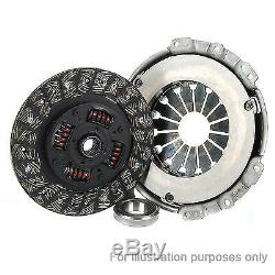 Clutch Kit 3pc (Cover+Plate+Releaser) fits NISSAN X-TRAIL T30 2.2D 01 to 13 LuK