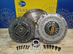 Clutch Kit Fit Vw New Beetle 1999-2010 1.8 1.9 T Tdi Conversion Incl Flywheel