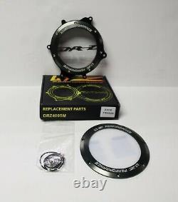 Drz 400 E, S, Sm Clutch Cover Kit Clear Drz 400 Billet Cover 47 Z Performance