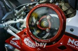 Ducabike Clear Clutch Cover Complete kit Ducati 959 1199 1299 V2 Panigale