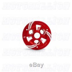 Ducabike Clear Clutch Cover Kit for Panigale V4 V4S Speciale Black Red Black