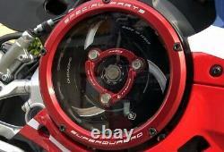 Ducabike Ducati 959 1199 1299 Panigale Clear Clutch Cover Kit Bicolour