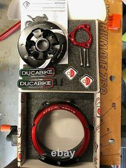 Ducabike Ducati 959 1199 1299 Panigale Clear Clutch Cover Kit Great condition