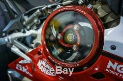 Ducabike Ducati Panigale V2 Clear Clutch Cover Kit