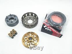 Ducati Dry Clutch Hub Basket Plates Pressure Barnett Plate Springs Caps Kit Gold