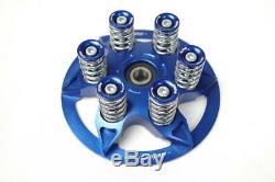 Ducati Kupplung Druckplatte Kupplungsdruckplatte Federn Federteller blau NEU